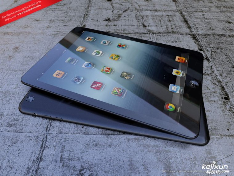 Apple iPad Mini Tablet PC prototype leak