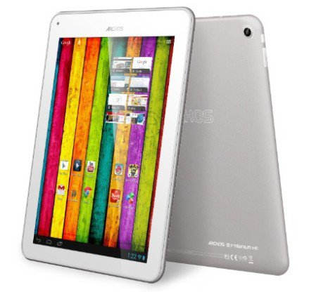 Archos released 9.7 inches Android 4.1 tablet 97 Titanium HD