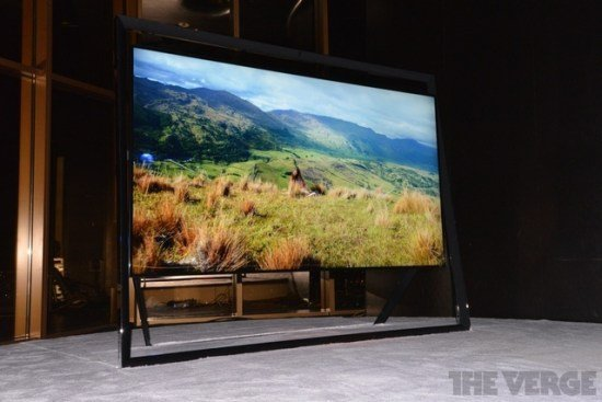 Samsung released the world's largest 4K resolution TV