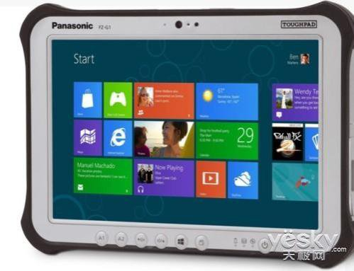 Panasonic released two tablet PCs Respectively Equipped Win8 with Android