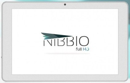 Ubuntu rise of the dual system Nibbio tablet start booking