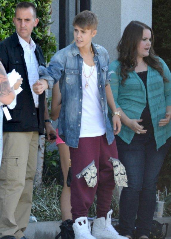 Justin et ses Beliebers