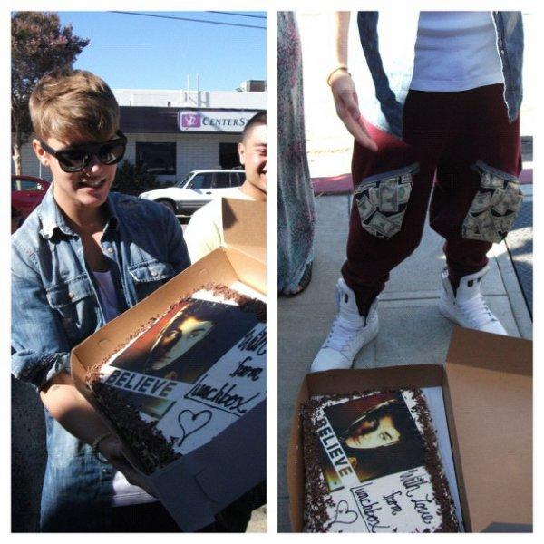 Petit cadeaux de la part de Justin