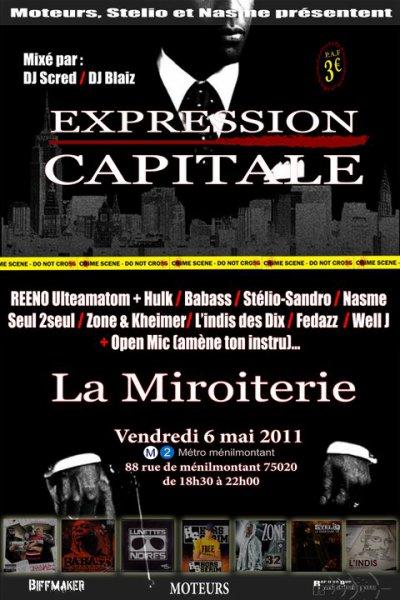 VENDREDI 6 MAI 2011 - CONCERT A LA MIROITERIE (PARIS)