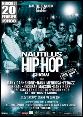 the NAUTILUS HIP HOP SHOW