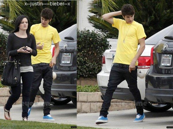 Justin en Californie + Justin & Selena à Disneyland + photo personnel