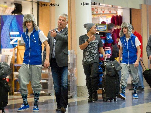 Justin à LAX + Nouvelle pub Pro-Activ