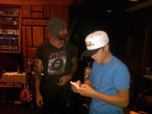 En floride + 18 ans + avec des fans + en studio