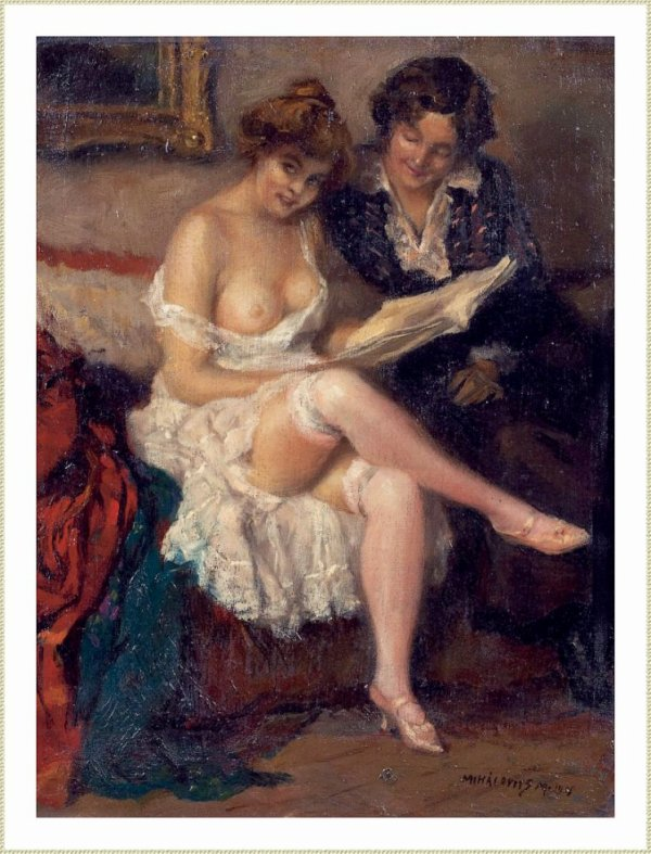 MIKLOS MIHALOVITS (1888-1960) LECTURE (accompagnée))