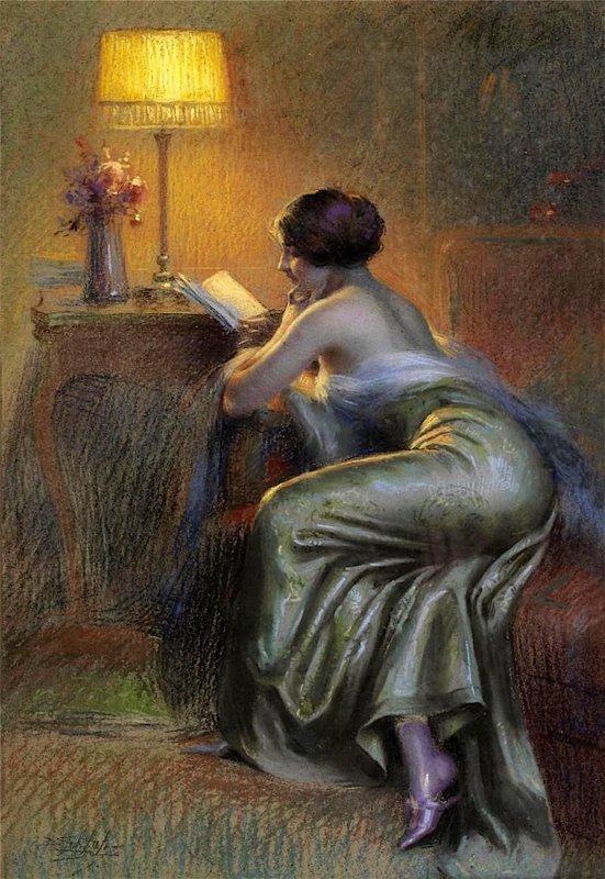 DELPHIN ENJOLRAS (1865 - 1945) LA NOUVELLE