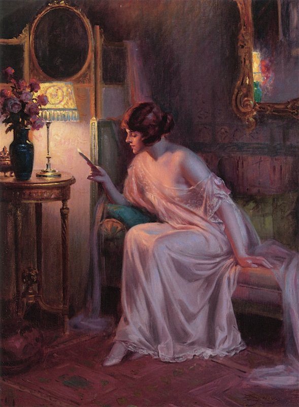 DELPHIN ENJOLRAS (1865 - 1945)