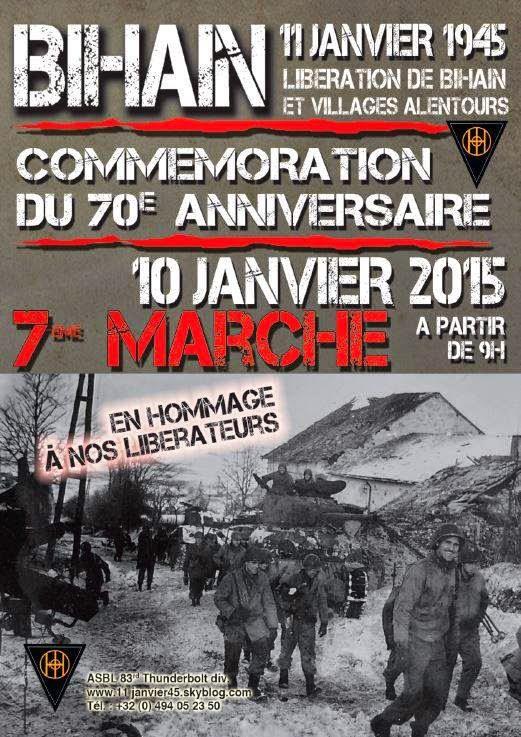 70e anniversaire de la BATAILLE des ARDENNES