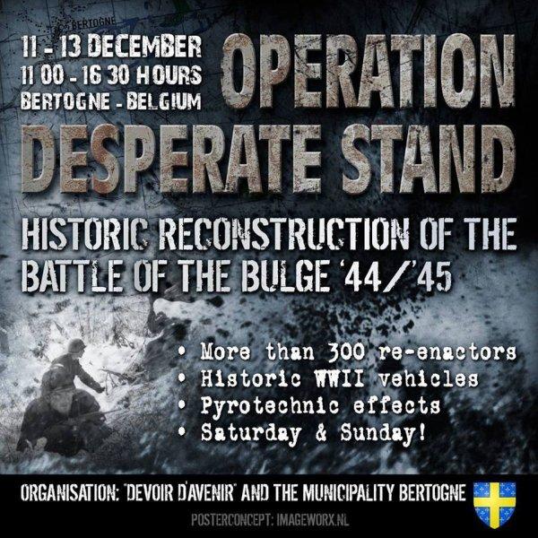 Bataille des Ardennes   71e Anniversaire ...