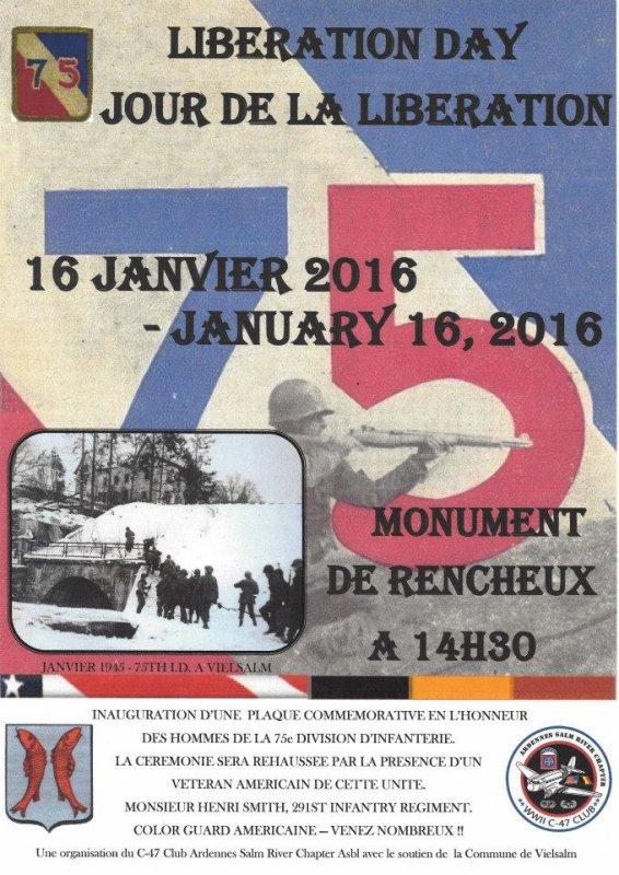 Première commémoration en 2016