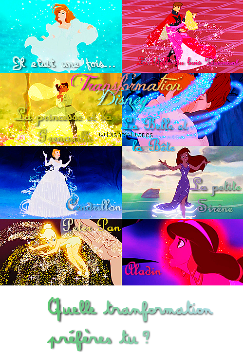 Transformation Disney & Princesse en vraie