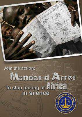 FIRM INFRACTION UNE BRANCHE DE LA PREMIERE ACTION MONDIALE CONTRE LES PILLAGES DE L'AFRIQUE LE MANDAT D ARRET