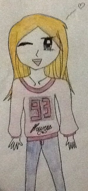 Moi j ai une passion = le dessin !