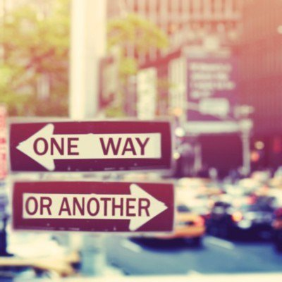 I don't know which way I have to go ... And nobody can show me the direction