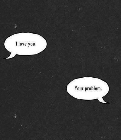 Wahrscheinlich ist gar nicht er das Problem, sondern sie. Sie war es immer und sie wird es immer bleiben. Die Frage ist nur, wie die Lösung aussehen wird...