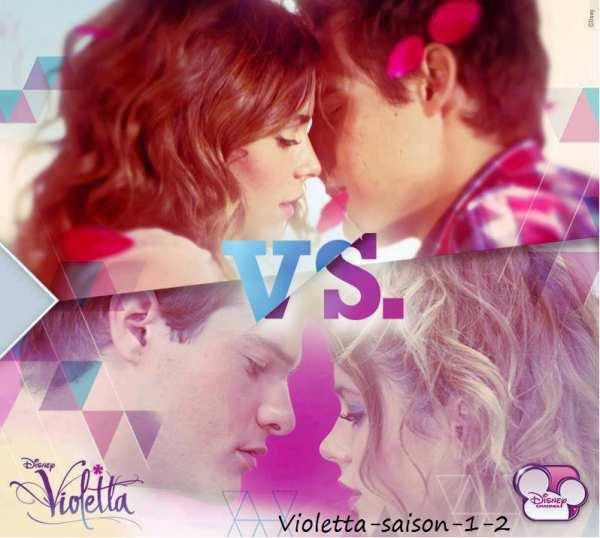 Violetta et Leon ou Violetta et Diego