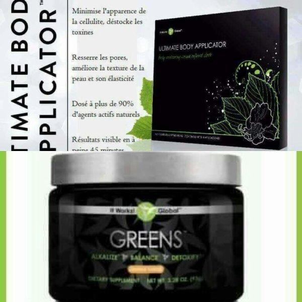 Programme wrap et greens