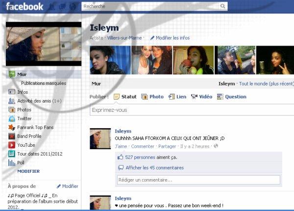 Page facebook Officiel !!!