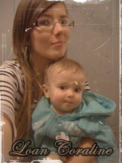 Coraline , 18 ans , En couple et Maman d'un petit Loan