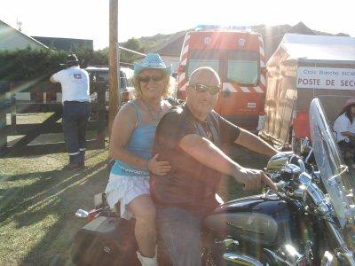 Un ptit tour en moto avec Pascal*