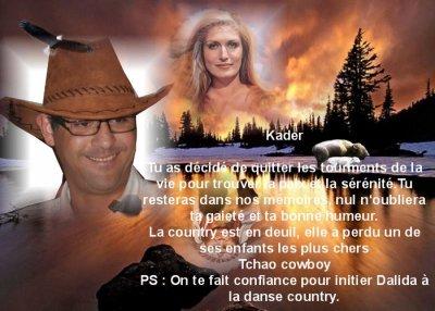 LE MONDE DE LA COUNTRY EN DEUIL*