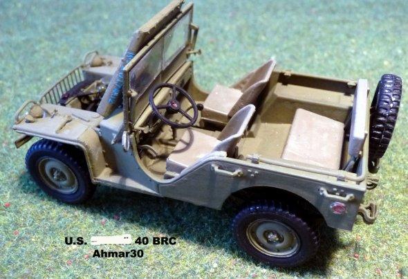 U.S. 4X4 TRUCK BANTAM 40 BRC  1/35éme  Mini Art réf 35014