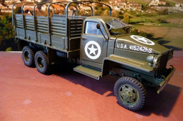 STUDEBAKER  U.S. 6 - WWII  ARMY TRUCK  - 1/35éme