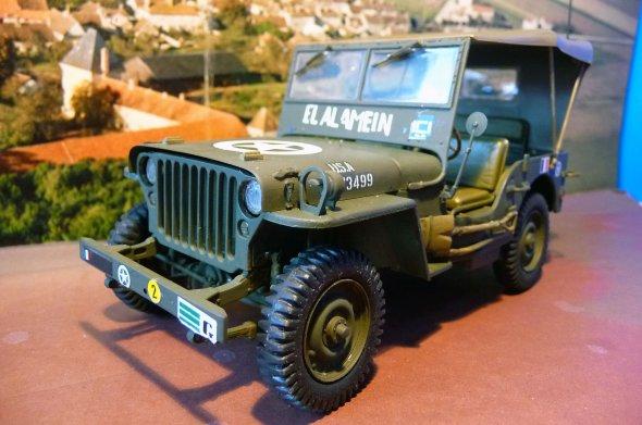 JEEP WILLYS MB - 2éme D.B.  EL ALAMEIN -   1944 -   1/24éme