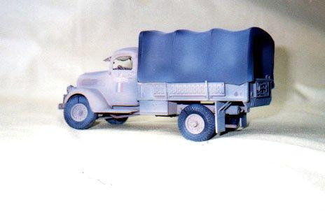 FORD PICKUP 1941 - utilisé par les F.F.L. en Tripolitaine       1/35éme