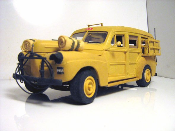 FORD 1941 S.W. COMMAND CAR F.F.L.  1941 BIR HAKEIM     1/24éme