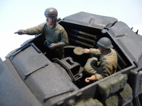TANK DESTROYER M 10 du 8éme régiment de Chasseurs d'Afrique - 2 éme escadron- Septembre 1943