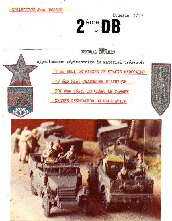 2 éme Division blindée Campagne de France  1944-1945 - 1/35éme-