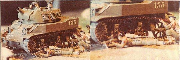1ére Division blindée - 1 régiment de Fusillers marins - campagne de France 1944/45 - 1/35éme -