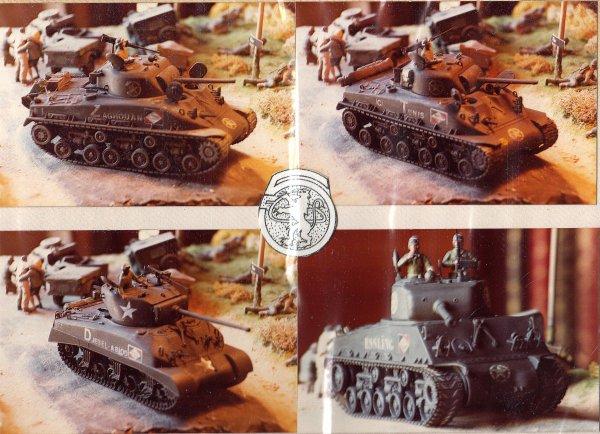 1 ére Div.BLINDEE - 5éme Chasseur d'Afrique - Campagne de France - 1944/1945 - 1/35 éme-