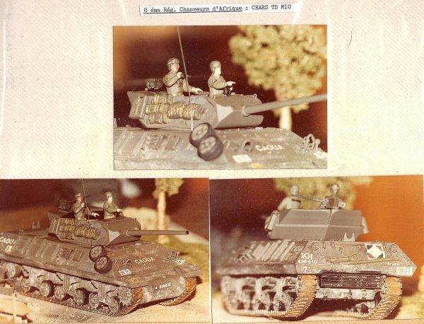 1ére Division Blindée - 8éme régiment de Chasseurs d'Afrique -Campagne de France 1944/45 - 1/35éme-