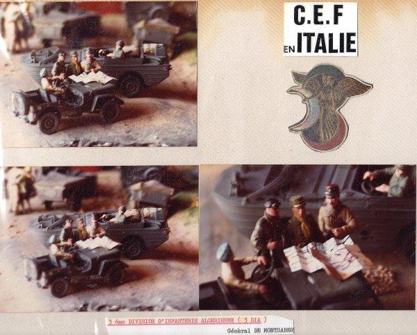 CAMPAGNE D'ITALIE - 3éme D.I.A.