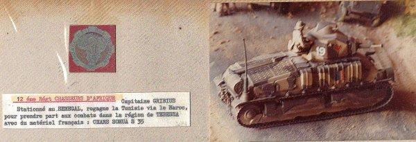 CAMPAGNE DE TUNISIE -  1942 -1943 - Les troupes françaises - 1/35éme -