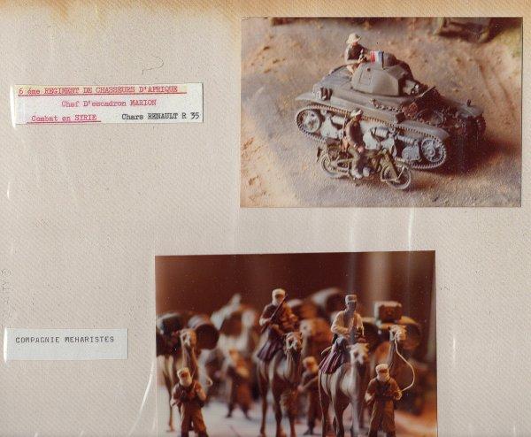 CAMPAGNE DE LYBIE - 6 éme Régiment de Chasseurs d'Afrique et  Compagnie Méharistes
