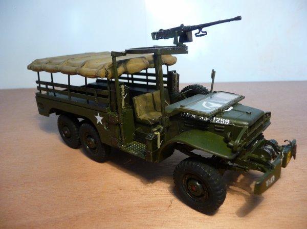 ITALERI 1/35 réf: 230 -  DODGE TRUCK WC 63  U.S.ARMY