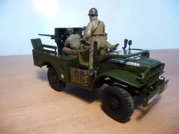 ITALERI réf: 245 1/35 - DODGE M 6 ANTI-TANK GUN CARRIAGE