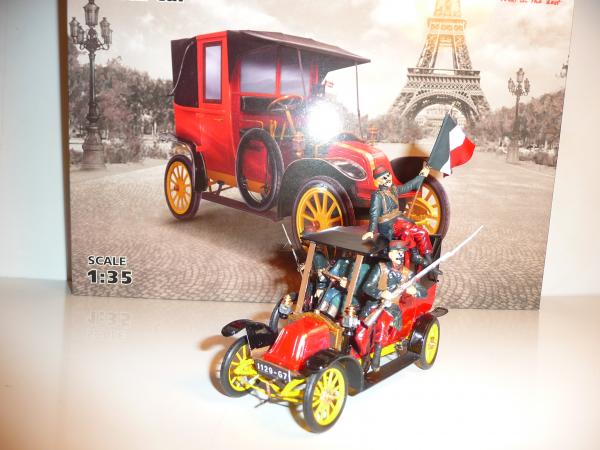 I.C.M. 1/35 - TAXI DE LA MARNE 1914