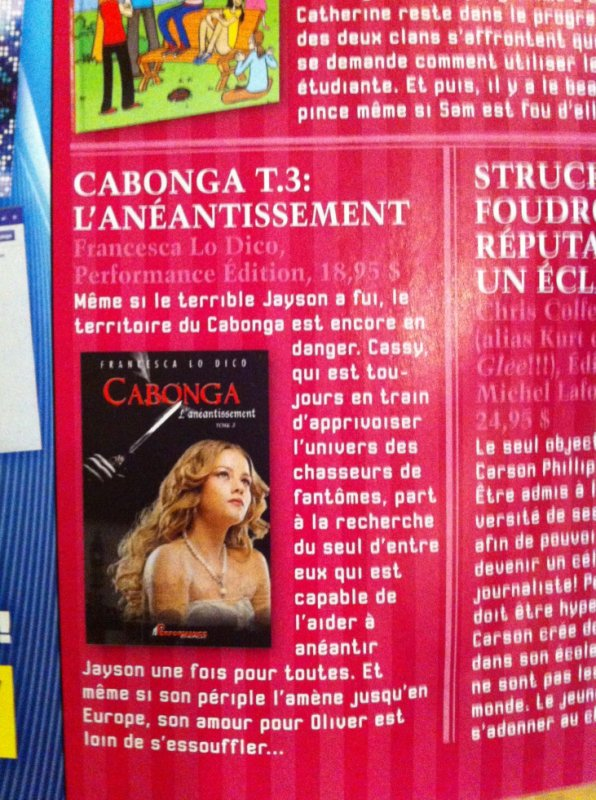 REVUE COOL-Exemplaire septembre 2013.