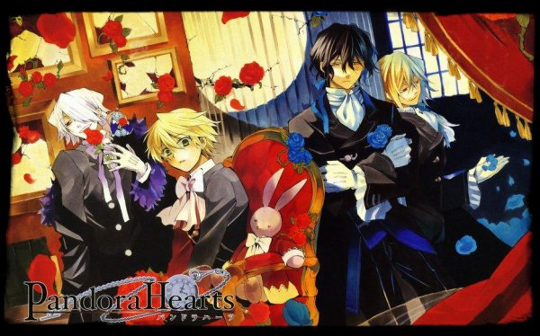 Nouveau Manga : Pandora Hearts