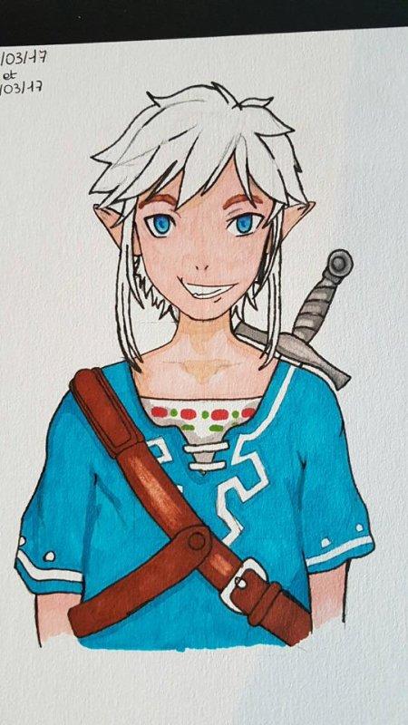 Link -Dessin-