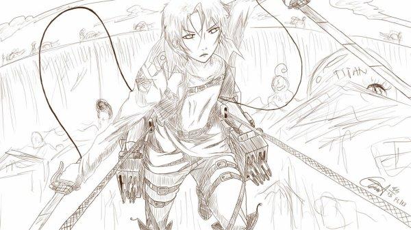 Attack on Free! Rin Matsuoka -