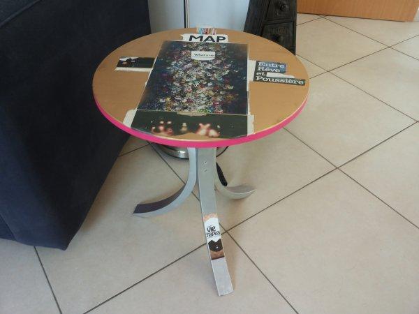 Customisation d'une table de chez Iké...